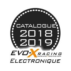 nouveau catalogue Evo X Racing marque electronique