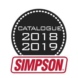 nouveau catalogue Evo X Racing marque Simpson