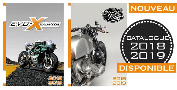 Catalogue Evo x Racing et Racer 2018 et 2019 nouveau
