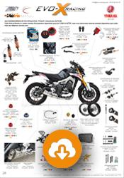 configuration Yamaha MT09