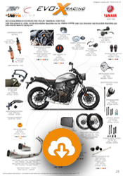 configuration Yamaha XSR 700