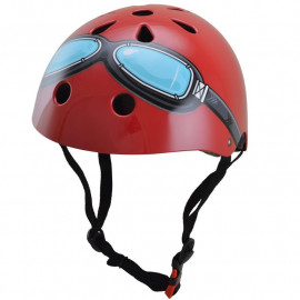 CASQUE RED GOGGLE