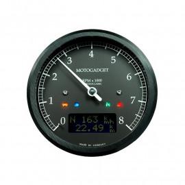 COMPTE TOURS CHRONOCLASSIC 8 NOIR LCD NOIR - NOIR