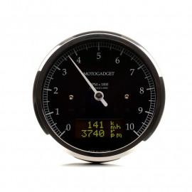 COMPTE TOURS CHRONOCLASSIC 10 NOIR LCD NOIR - POLI