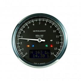 COMPTE TOURS CHRONOCLASSIC 14 NOIR LCD NOIR - POLI