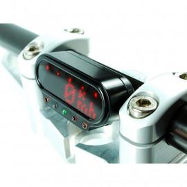 Support pour motoscope à visser - 22mm NOIR