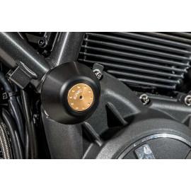 Butées pour moteur, cadre et carénage Ducati Scrambler