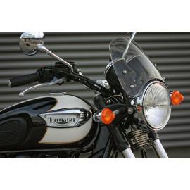 Bulle Dart modèle Classic Triumph Bonneville et T100 refroidissement air
