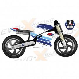 Superbike Kiddimoto GSXR vintage Replica
