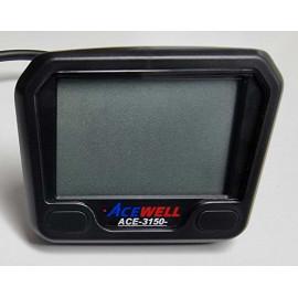COMPTEUR DIGITAL ACEWELL MODELE 3150 TGB NOIR