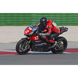 BULLE DOUBLE COURBURE PANIGALE V4 TRANSPARENTE