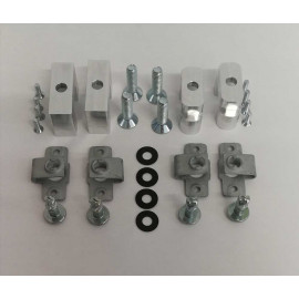 aluminium CNC inserts (4 pcs w