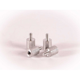aluminium inserts (4 pcs)