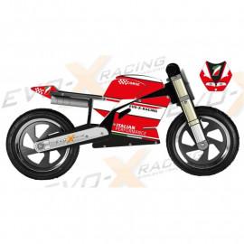 Superbike Kiddimoto Ducati 916 vintage Replica