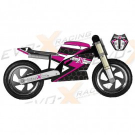 Superbike Kiddimoto Replica Race Fuscia