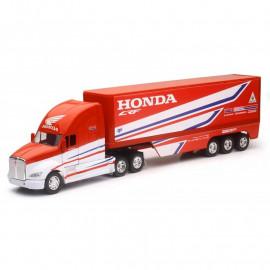 Miniature camion Peterbilt HRC factory team Honda 1/32