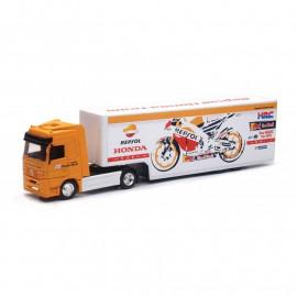 Miniature camion Repsol Honda Racing Team 1/43