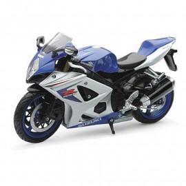 Miniature moto Suzuki GSXR 1000 1/12