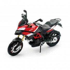 Miniature moto Ducati Multistrada 1200 Pikes Peak 1/12