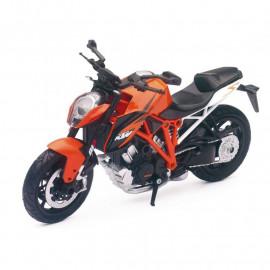 Miniature moto KTM Superduke 1290 R 1/12