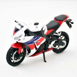 Miniature moto Honda CBR 1000 RR 1/12
