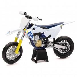 Miniature moto Husqvarna FS450 Supermotard 1/12