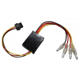 Spare electronic box 1 for feu arrière - clignotants unit BLAZE