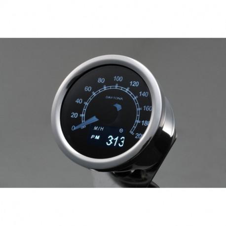 Compteur de vitesse inox 200kmh Oled 60mm