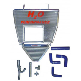 Radiateur huile et eau majoré + kit 998 R