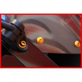 APRILIA RSV4 / DUCATI PANIGALE 899 / 1199 KIT VISSERIE BULLE EVOTECH