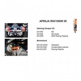 amortisseur AR Matris M46K APRILIA RSV 1000R 04-08
