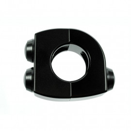 COMMODO BOITIER NOIR 3 BOUTONS NOIRS 22MM