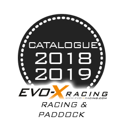 nouveau catalogue Evo X Racing marque Evo x Racing et paddock